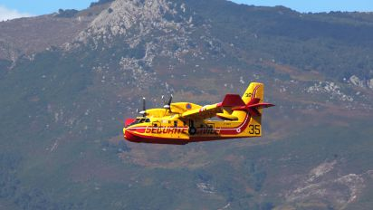 F-ZBFY - France - Sécurité Civile Canadair CL-415 (all marks)