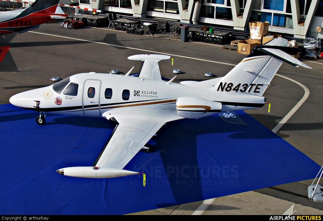 Private N843TE aircraft at Geneva Intl