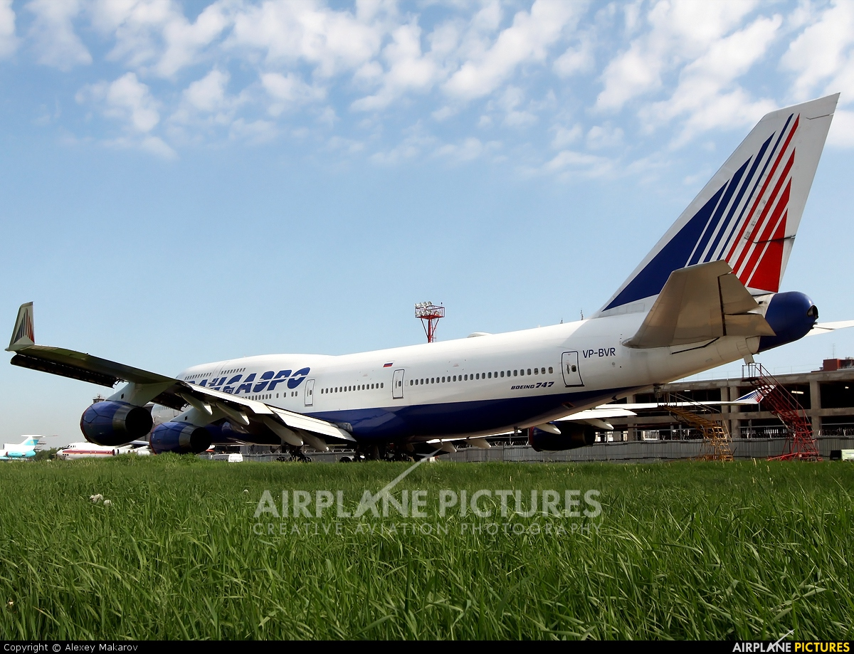 Transaero Airlines VP-BVR aircraft at Moscow - Domodedovo
