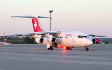 HB-IYR - Swiss British Aerospace BAe 146-300/Avro RJ100