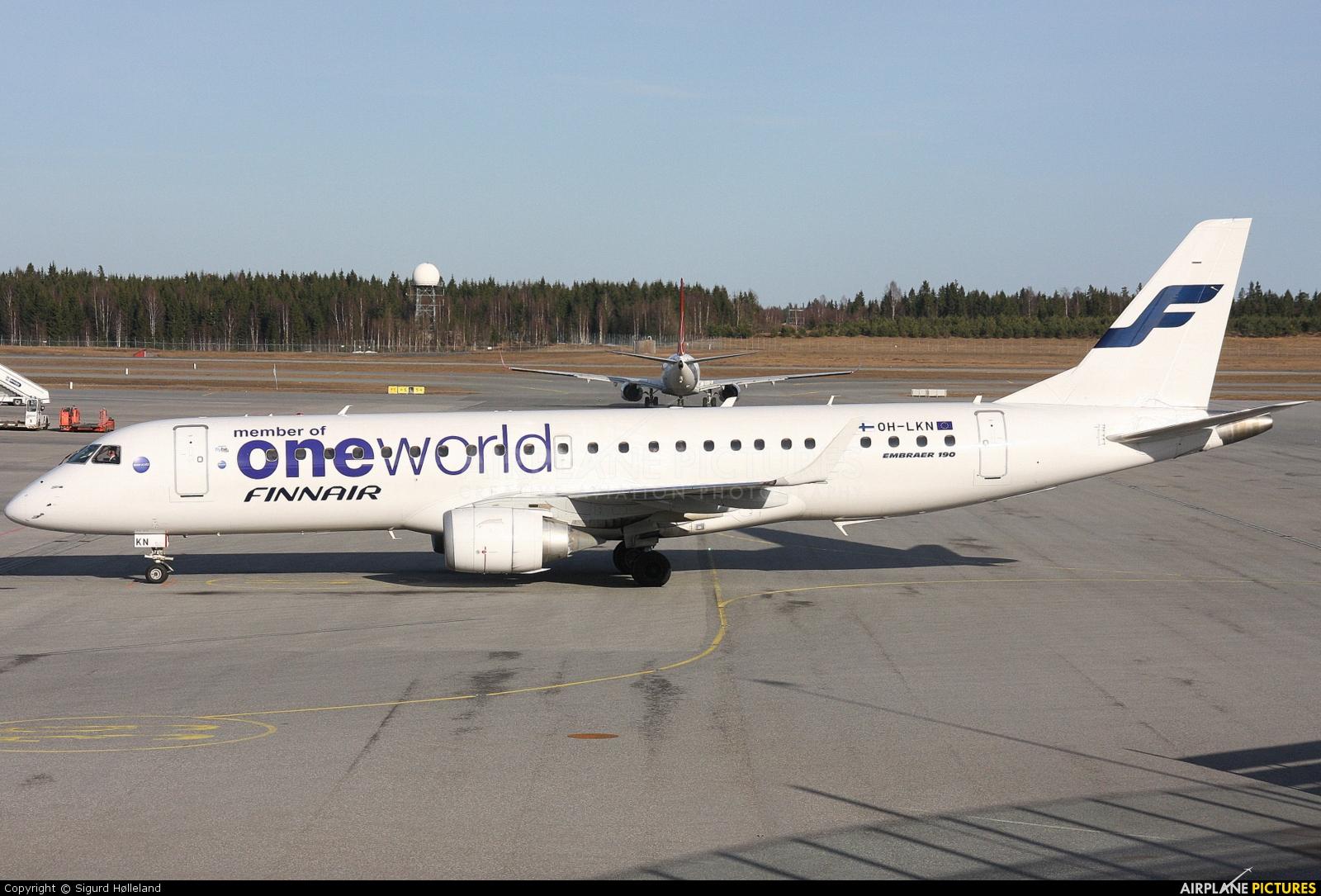 Finnair OH-LKN aircraft at Oslo - Gardermoen