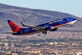 N816SY - Sun Country Airlines Boeing 737-800