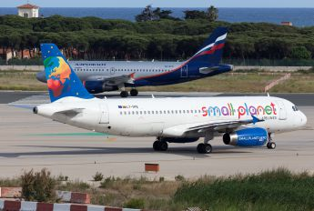 LY-SPB - Small Planet Airlines Airbus A320