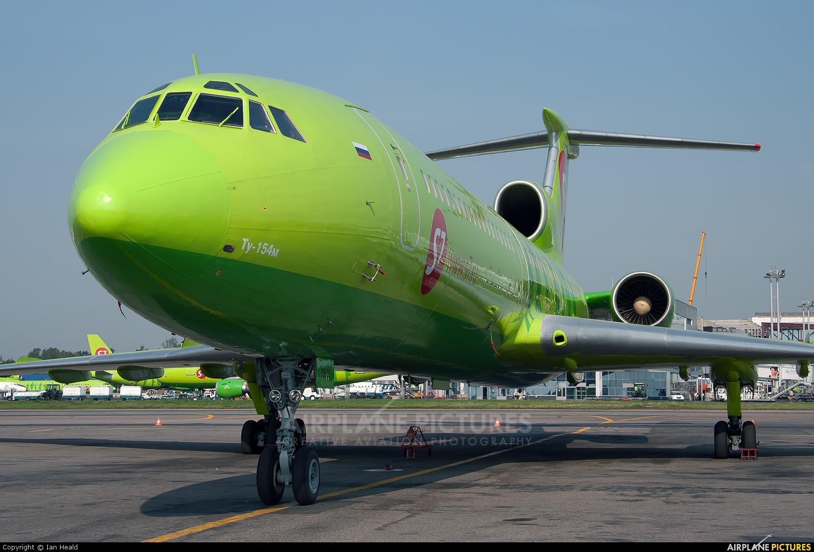 S7 Airlines RA-85829 aircraft at Moscow - Domodedovo