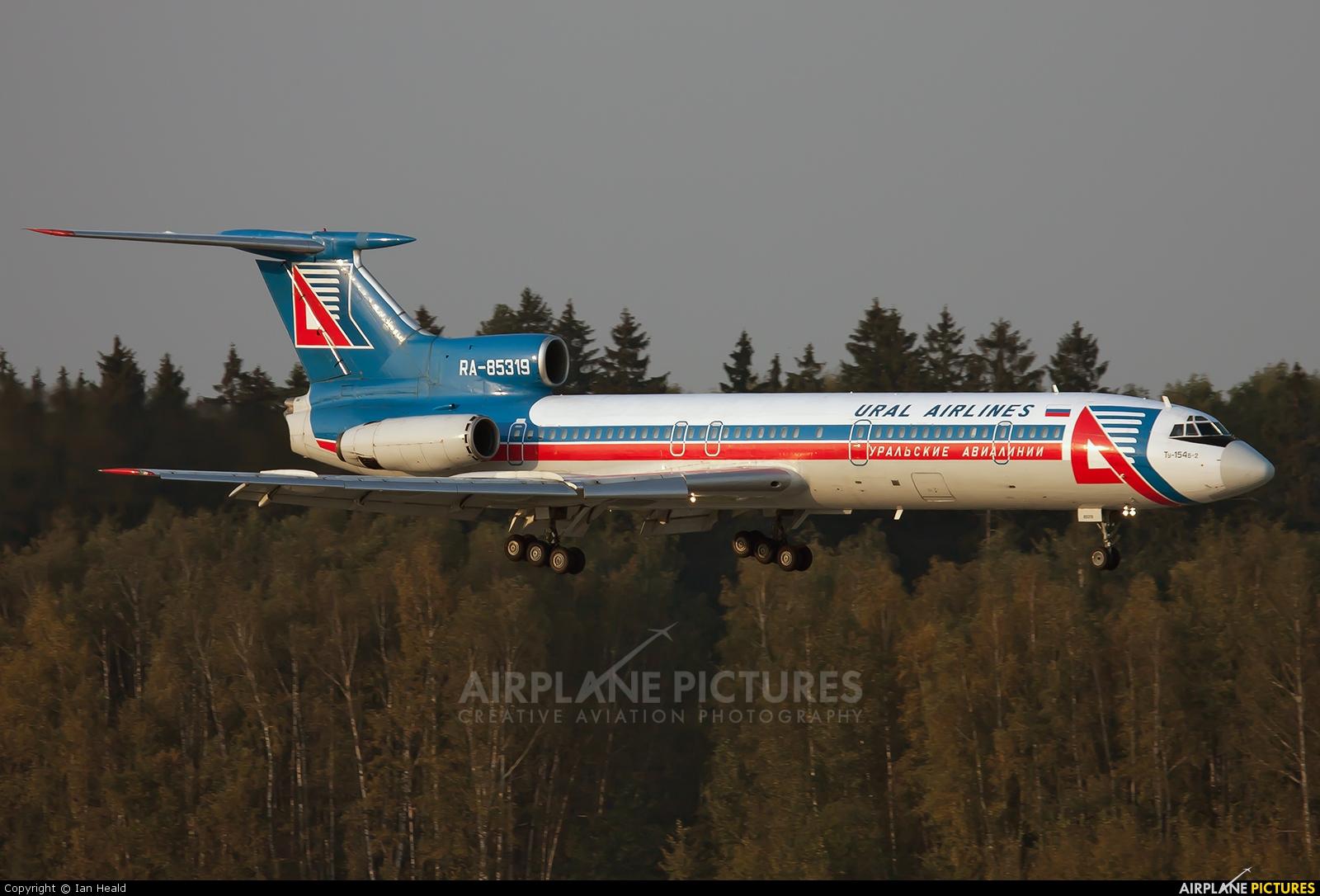 Ural Airlines RA-85319 aircraft at Moscow - Domodedovo