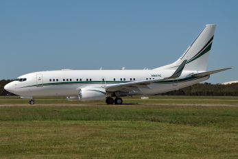 N50TC - Tracinda Corporation Boeing 737-700 BBJ
