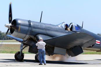 N83782 - Private Vought F4U Corsair