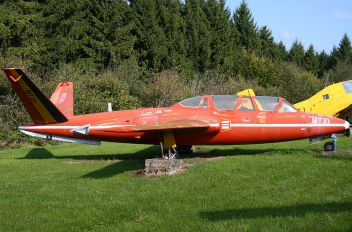 "MT31 - Belgium - Air Force ""Les Diables Rouges"" Fouga CM-170 Magister"