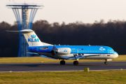 PH-WXD - KLM Cityhopper Fokker 70 aircraft