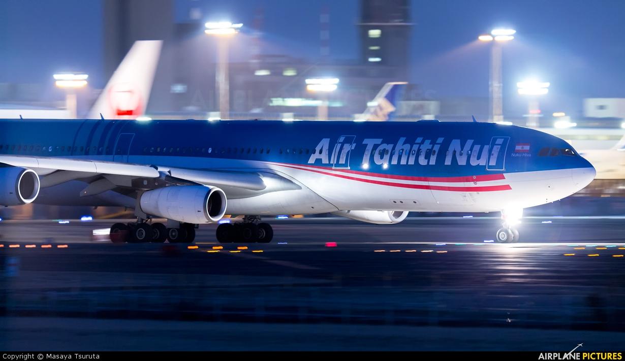 Air Tahiti Nui F-OLOV aircraft at Tokyo - Narita Intl