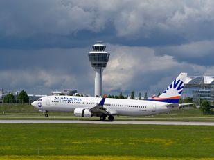 D-ASXM - SunExpress Boeing 737-800