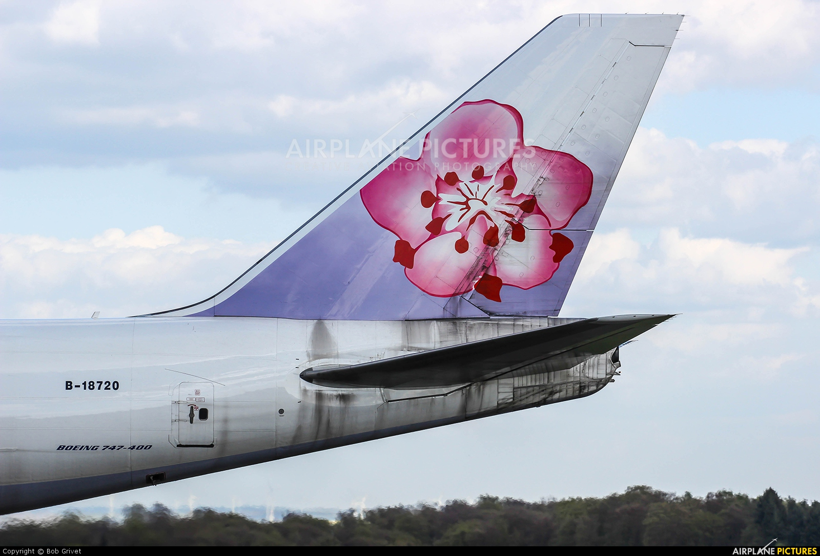 China Airlines Cargo B-18720 aircraft at Luxembourg - Findel