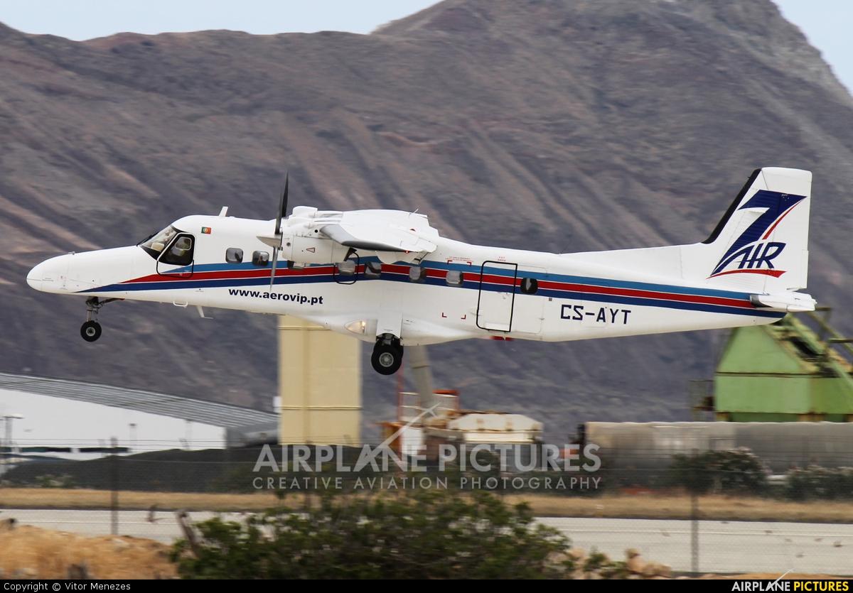 Aero VIP CS-AYT aircraft at Porto Santo