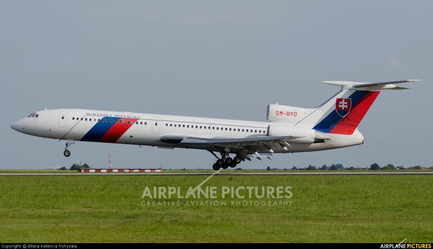 Slovakia - Government OM-BYO aircraft at Prague - Václav Havel