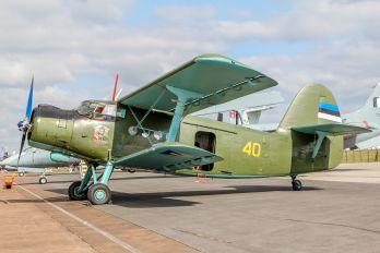 40 - Estonia - Air Force Antonov An-2