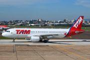 PR-MYQ - TAM Airbus A320 aircraft