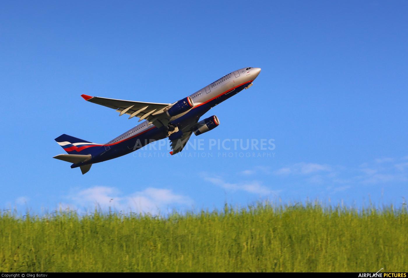 Aeroflot VQ-BBG aircraft at Moscow - Sheremetyevo
