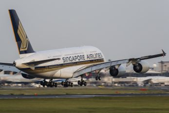 9V-SKP - Singapore Airlines Airbus A380