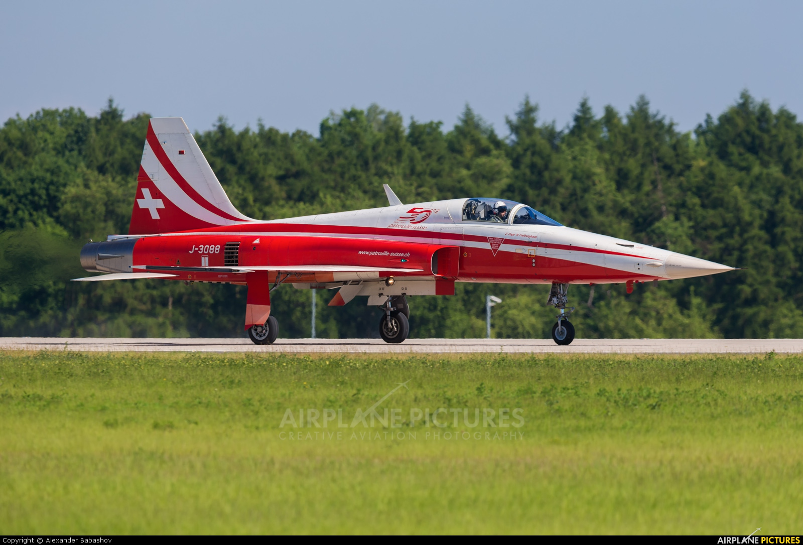 Switzerland - Air Force: Patrouille de Suisse Northrop F-5E Tiger II J-3088