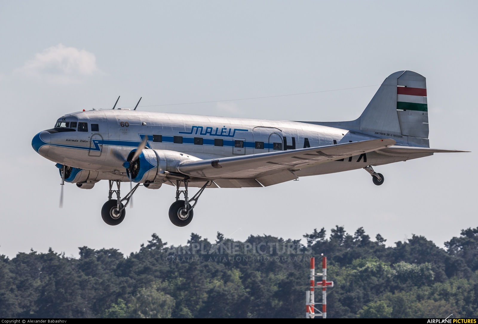 Malev Sunflower Aviation (Gold Ttimer Foundation) Lisunov Li-2 HA-LIX