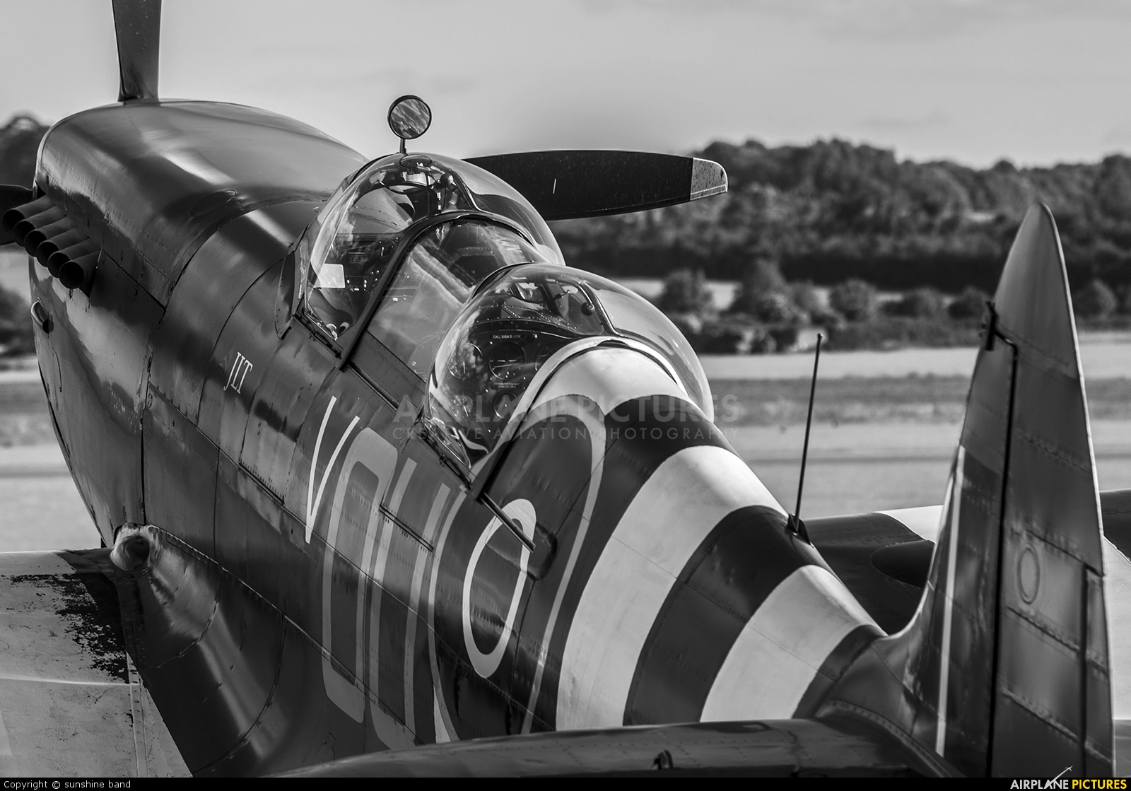 Private G-LFIX aircraft at Duxford