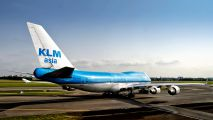 PH-BFM - KLM Asia Boeing 747-400 aircraft