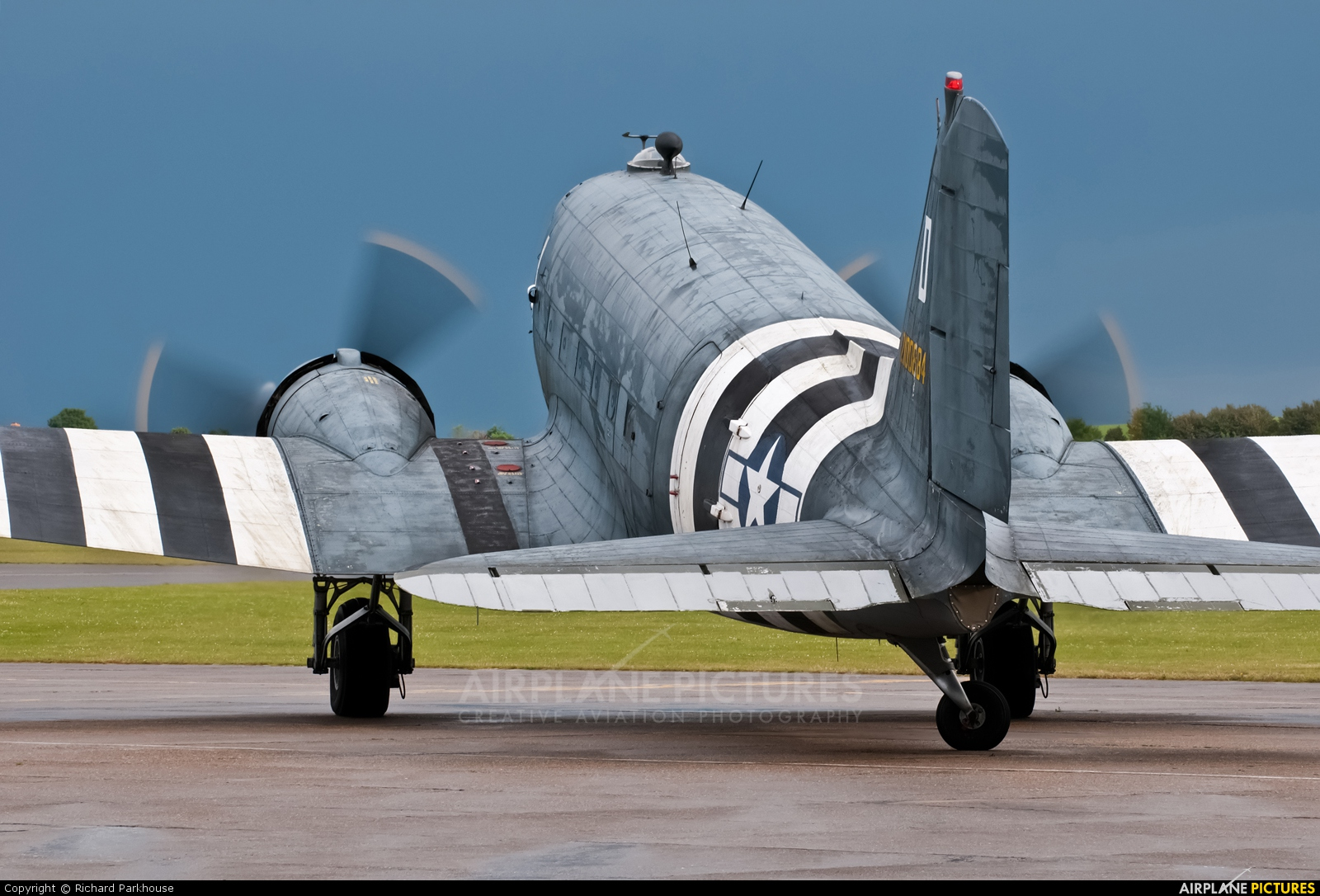 Aces High N147DC aircraft at Duxford