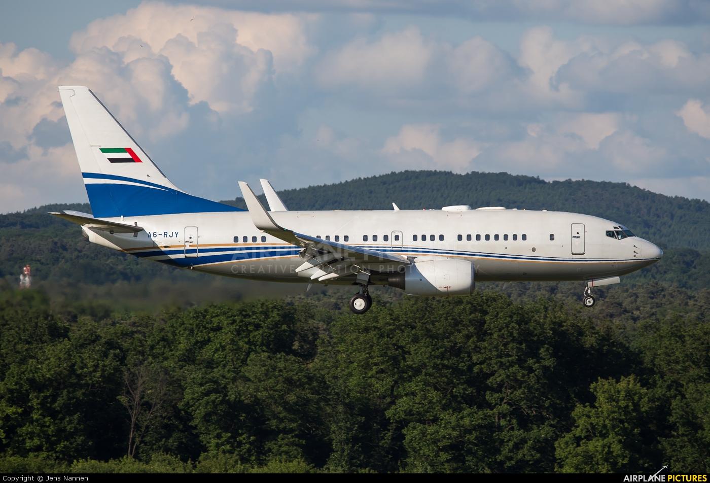 Royal Jet A6-RJY aircraft at Cologne Bonn - Konrad Adenauer