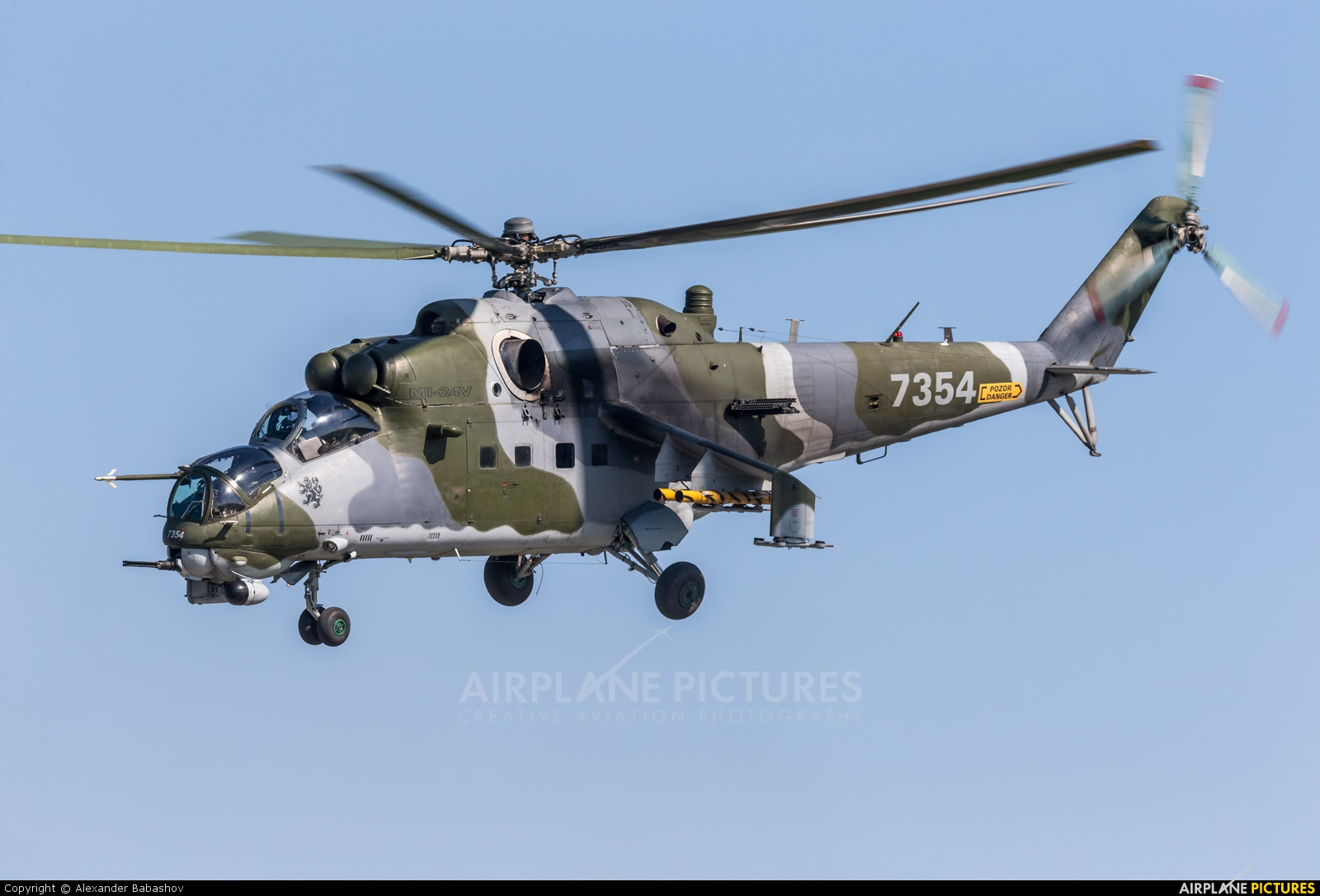 Czech - Air Force Mil Mi-24V 7354