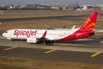 VT-SZJ - SpiceJet Boeing 737-800