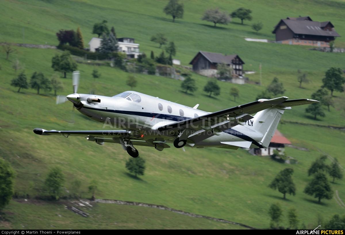 M-IFLY aircraft at Buochs