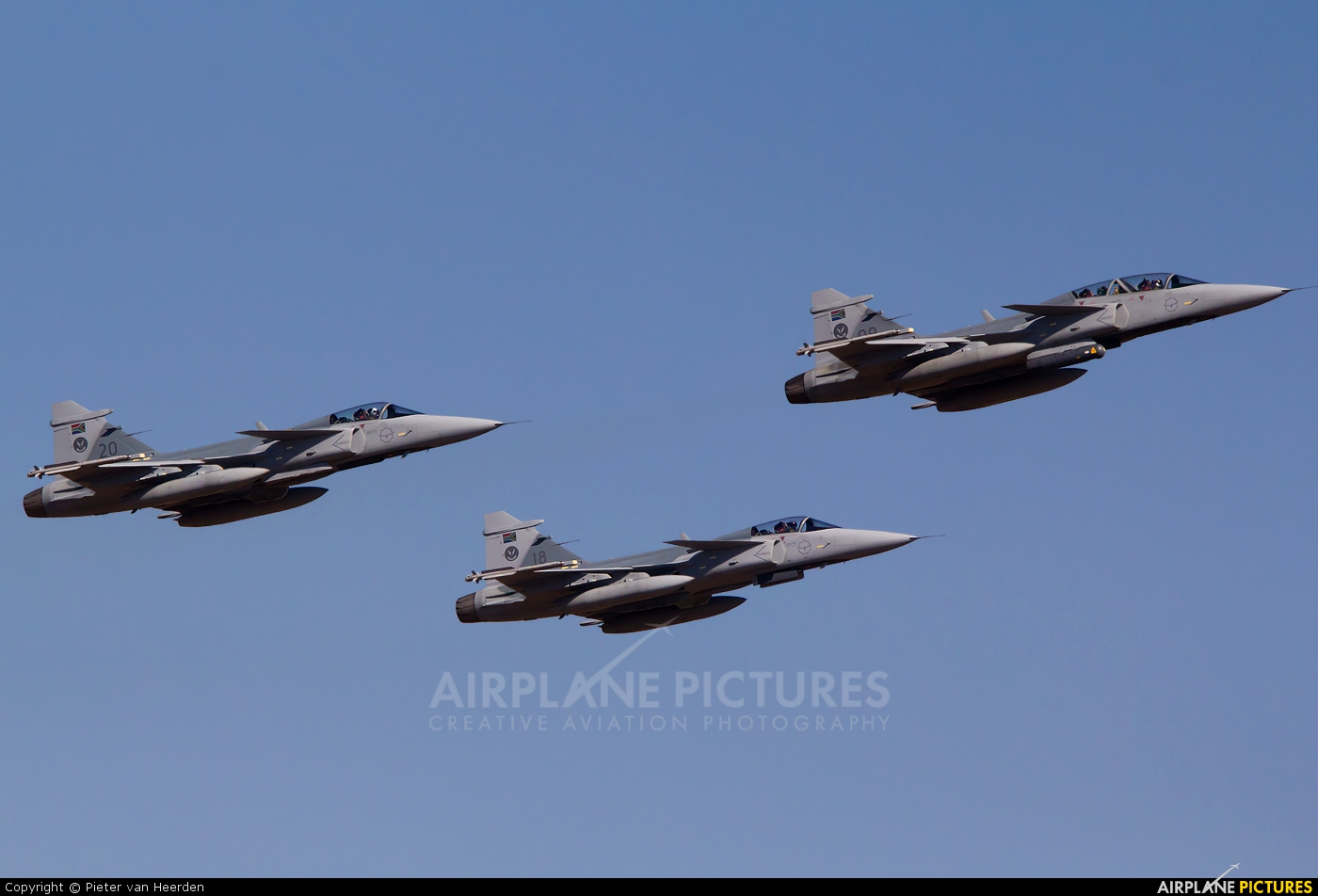 South Africa - Air Force 20 aircraft at Waterkloof