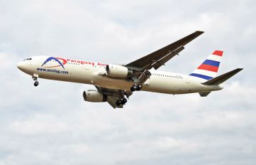 N254MY - Paraguay Airlines Boeing 767-300ER