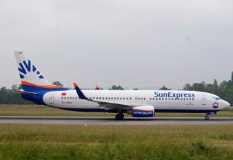 TC-SNO - SunExpress Boeing 737-800