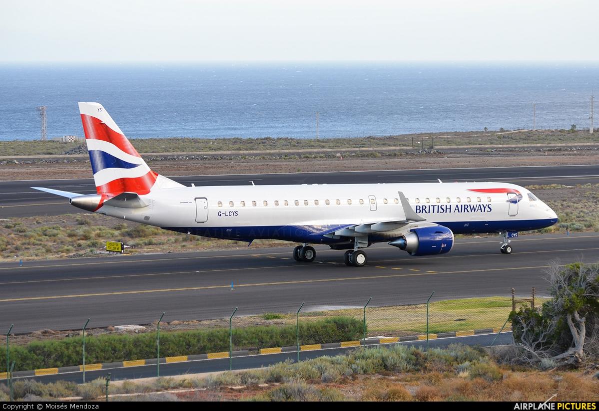 British Airways - City Flyer G-LCYS aircraft at Tenerife Sur - Reina Sofia