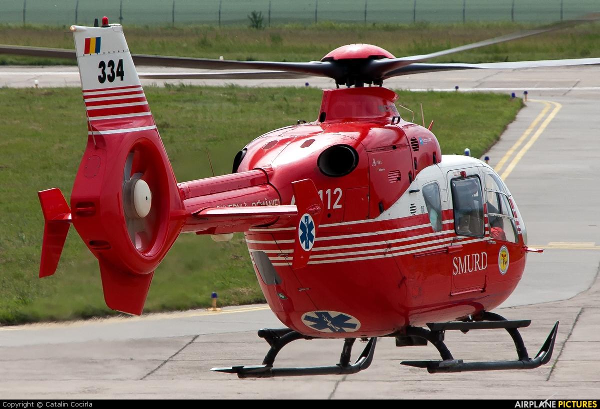 SMURD 334 aircraft at Tulcea - Delta Dunării
