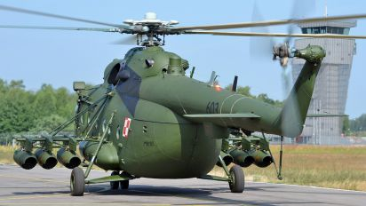 603 - Poland - Air Force Mil Mi-17