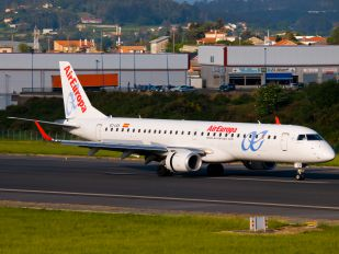 EC-LEK - Air Europa Embraer ERJ-195 (190-200)