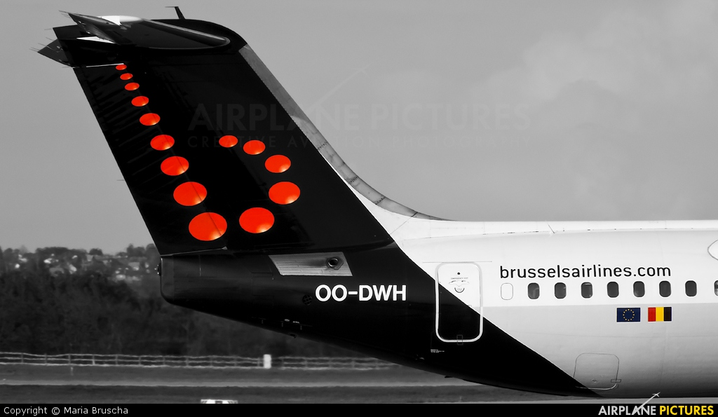 Brussels Airlines OO-DWH aircraft at Budapest Ferenc Liszt International Airport