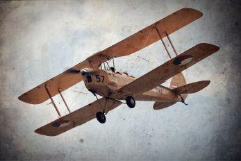 """PH-TYG - Netherlands - Air Force """"Historic Flight"""" de Havilland DH. 82 Tiger Moth"""