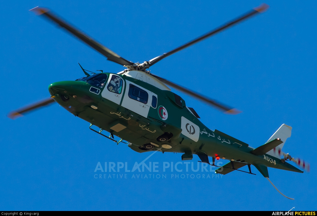 Algeria - Gendarmerie AG34 aircraft at In Flight - Algeria