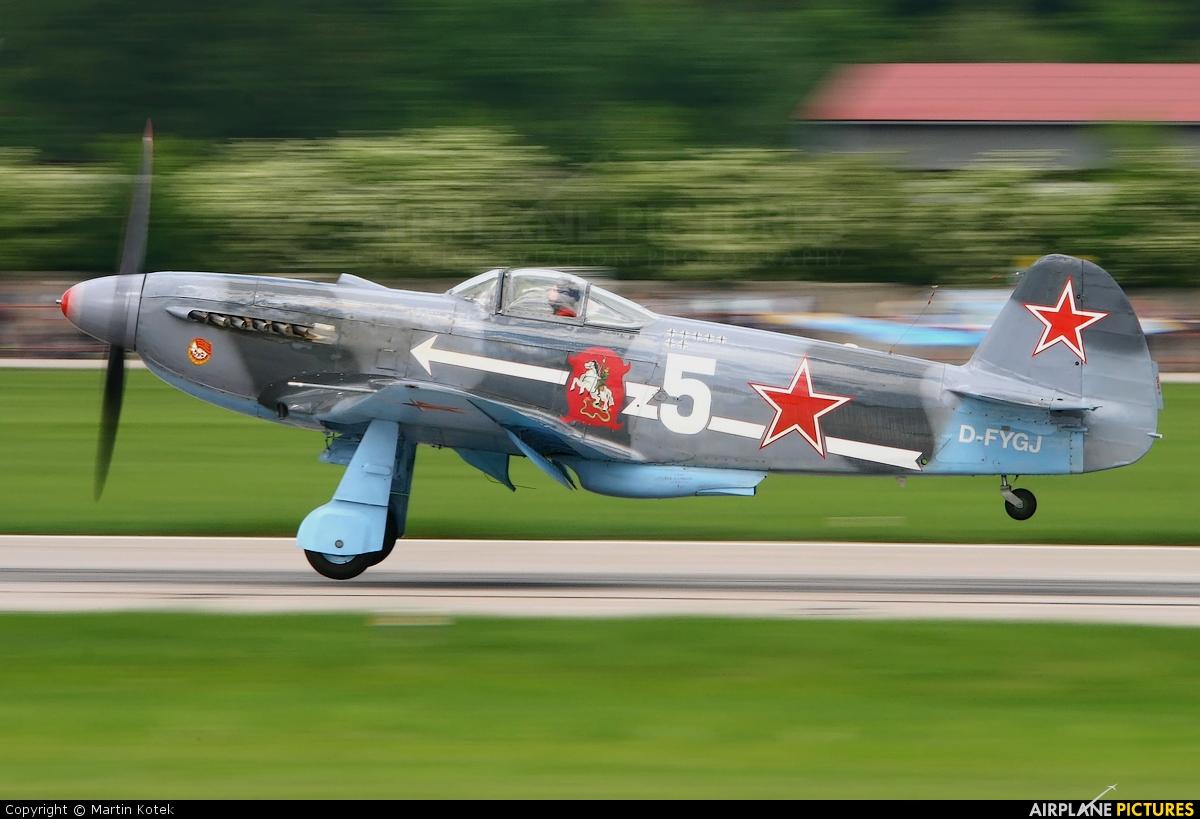 Private D-FYGJ aircraft at Pardubice