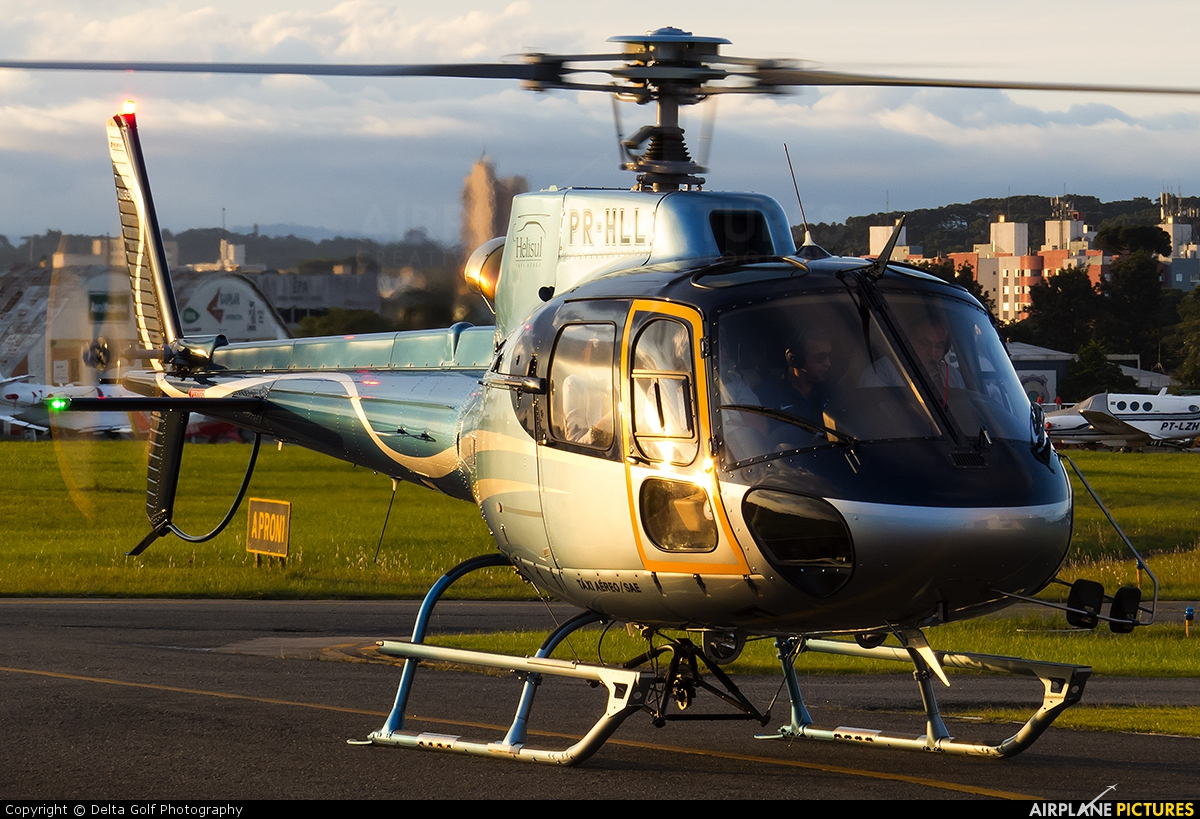 Helisul Táxi Aéreo PR-HLL aircraft at Curitiba - Bacacheri