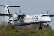 G-FLBB - Flybe de Havilland Canada DHC-8-400Q / Bombardier Q400 aircraft