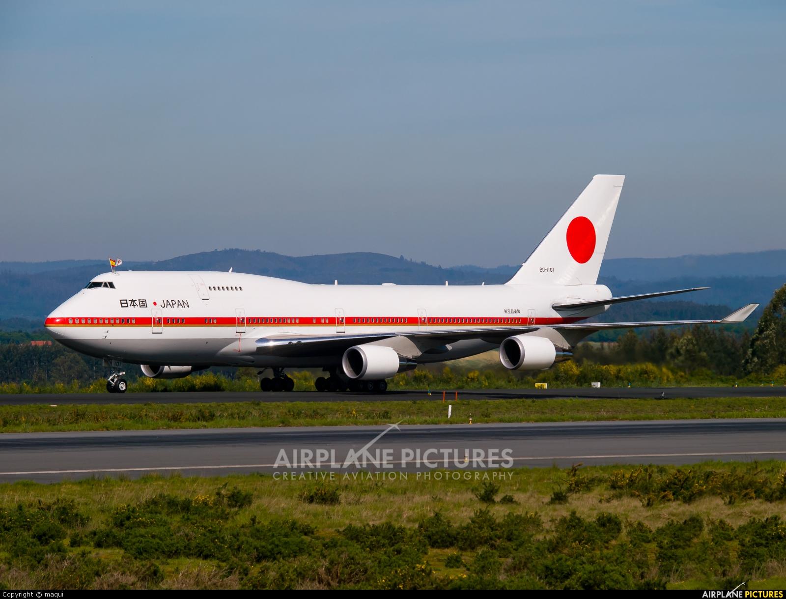 Japan - Air Self Defence Force 20-1101 aircraft at Santiago de Compostela