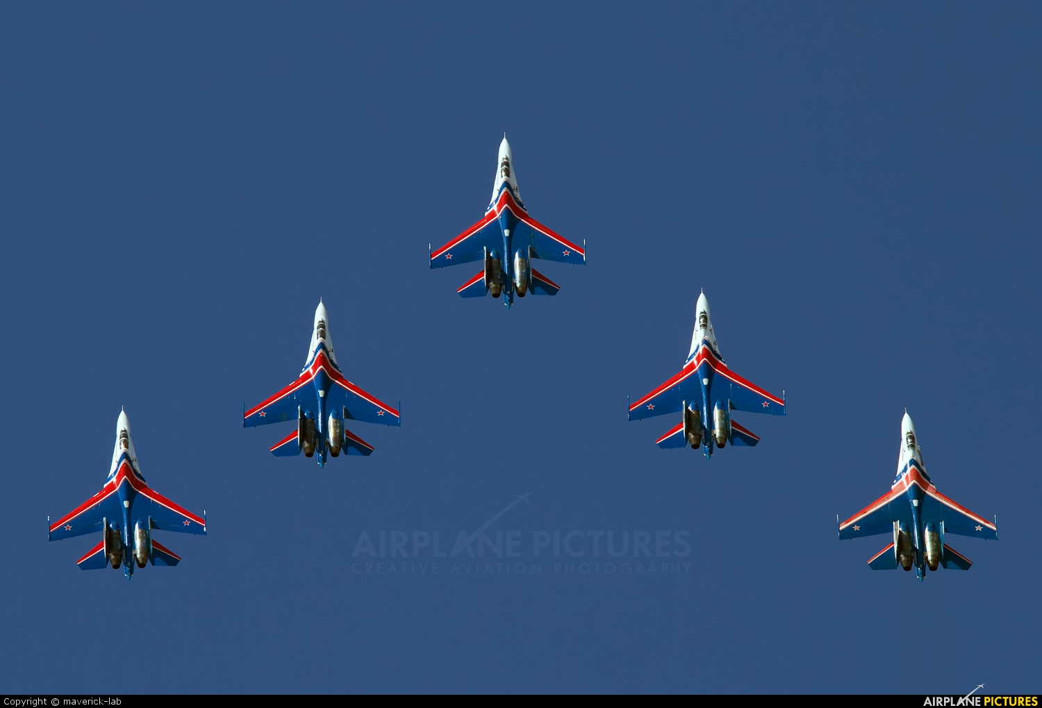 "Russia - Air Force ""Russian Knights"" 20 aircraft at Undisclosed Location"