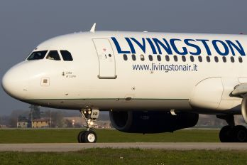 EI-EUB - Livingston Airbus A320