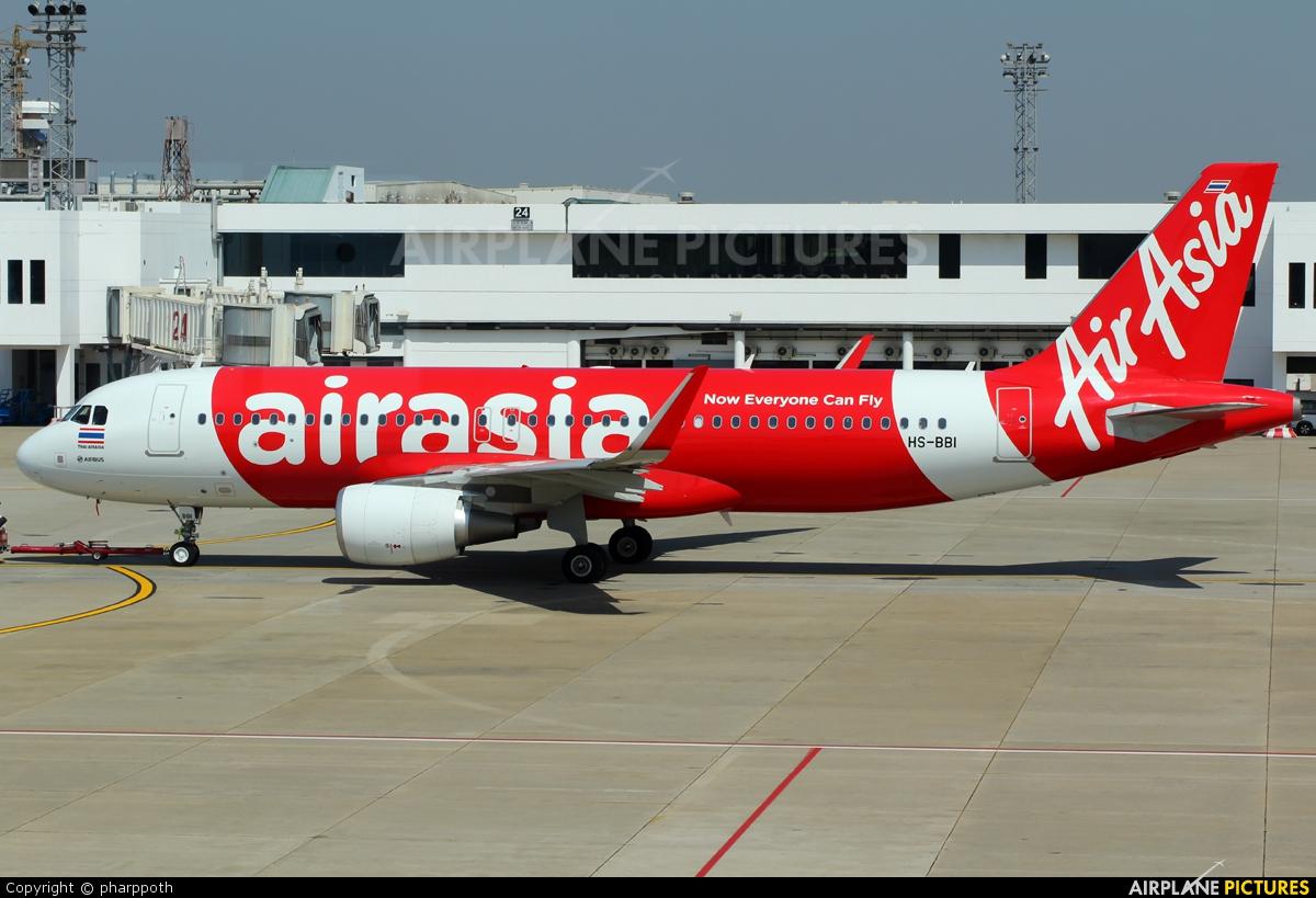 AirAsia (Thailand) HS-BBI aircraft at Bangkok - Don Muang