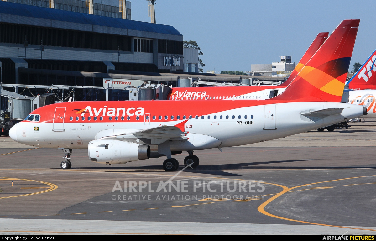 Avianca Brasil PR-ONH aircraft at Porto Alegre - Salgado Filho
