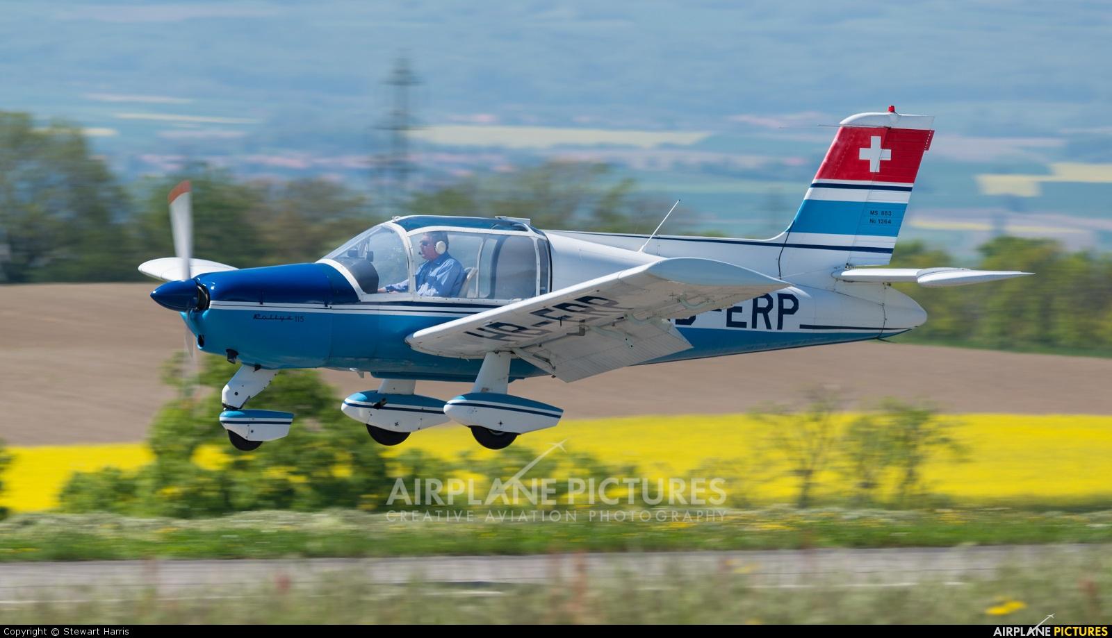 Private HB-ERP aircraft at Lausanne - La Blécherette
